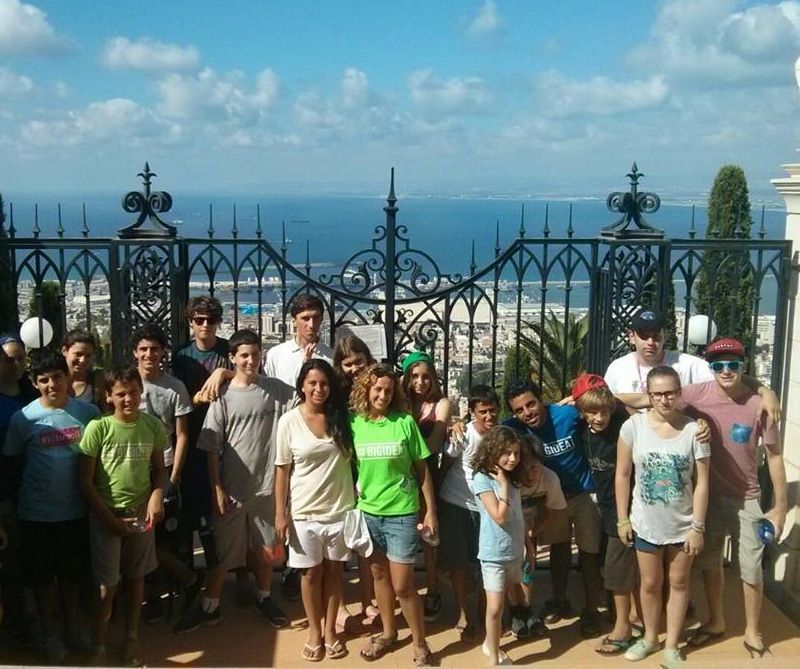 Summer school Israel at the beach tour