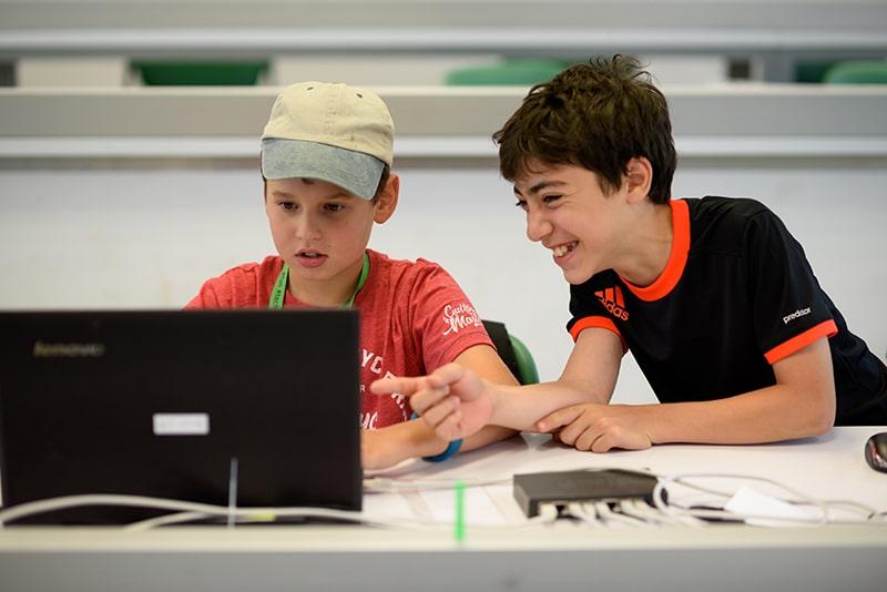 summer camp Israel kids coding