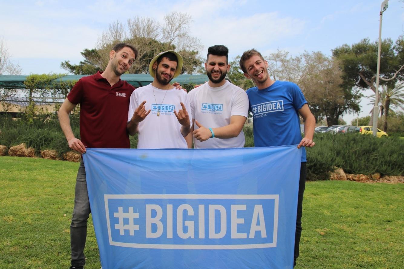 Big Idea Israeli counselors