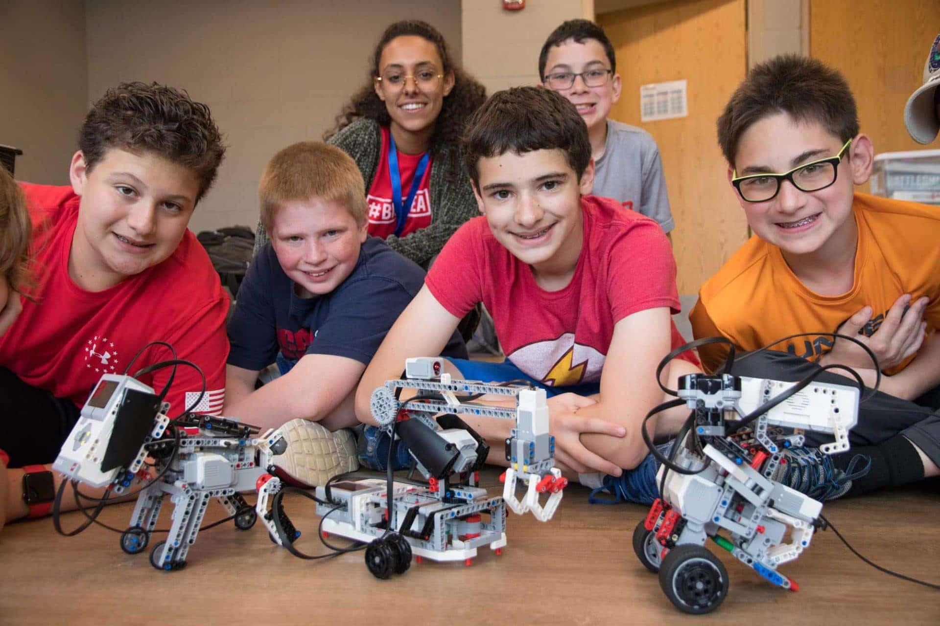 Big Idea Robots with campers