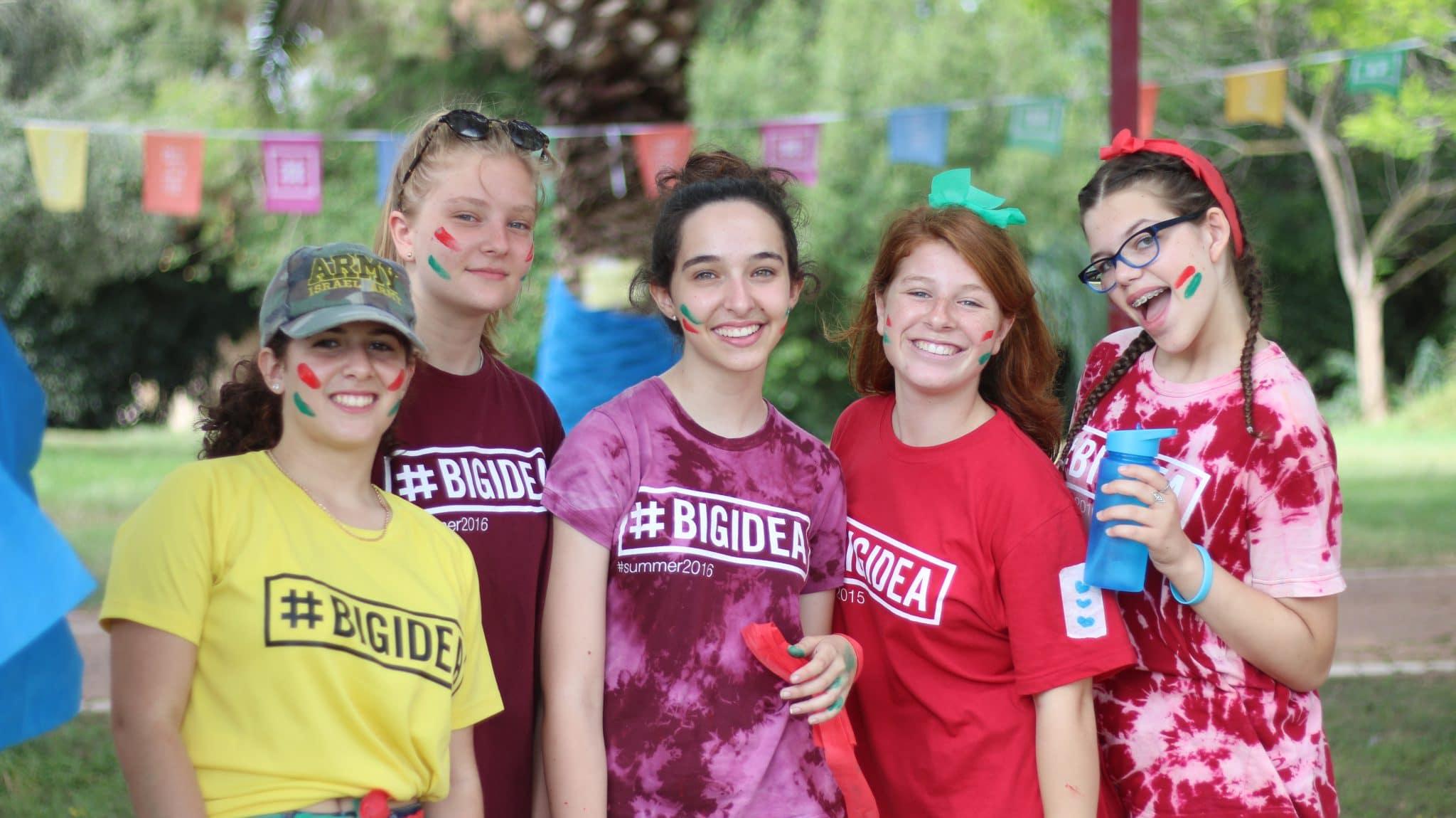 friends in big idea summer camp