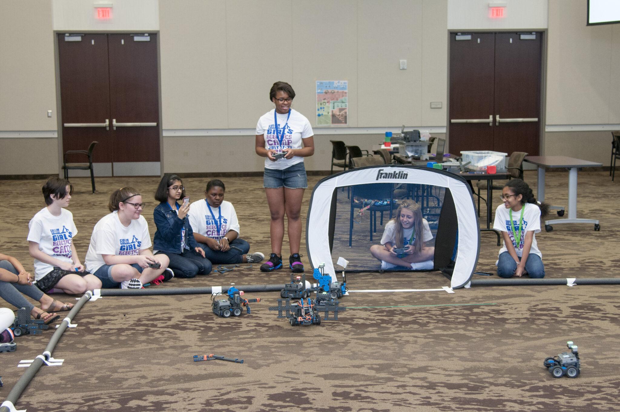 robot camp tournament